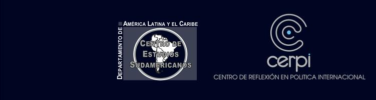 """X Encuentro del CERPI y la VIII Jornada del CENSUD """"Nuevas Configuraciones de los Escenarios nacionales, regionales y globales a partir de la experiencia del COVID 19"""" Logo"""
