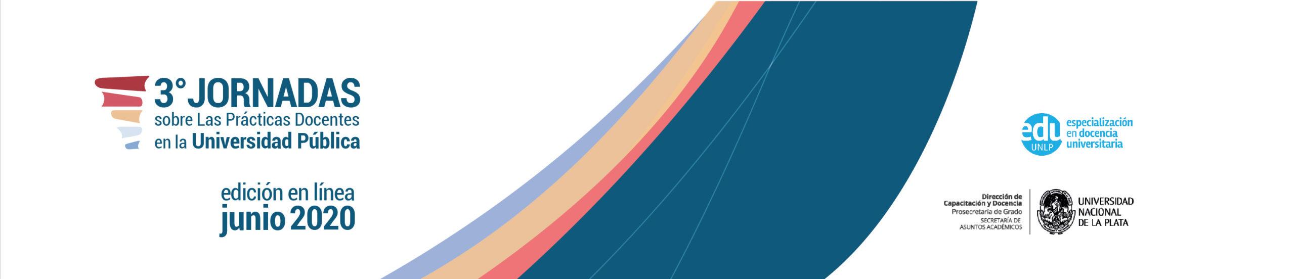 3º Jornadas sobre las Prácticas Docentes en la Universidad Pública Logo