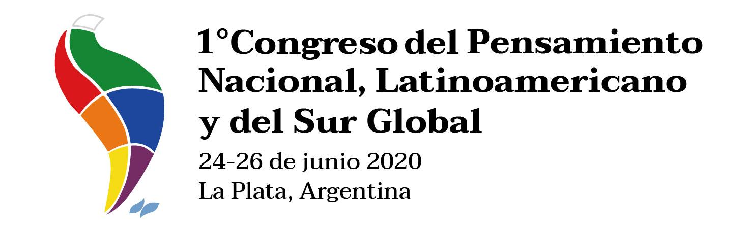 1° Congreso del Pensamiento Nacional, Latinoamericano y del Sur Global Logo