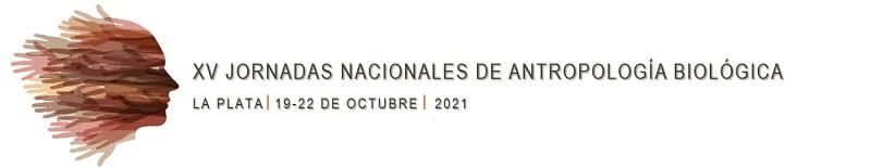 XV Jornadas Nacionales de Antropología Biológica Logo