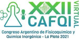 XXII Congreso Argentino de Fisicoquímica y Química Inorgánica Logo